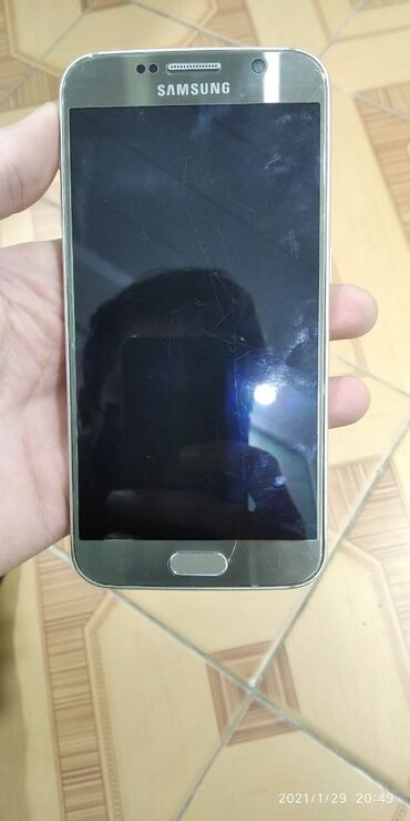 s6 samsung qiymeti - Azərbaycan: İşlənmiş Samsung Galaxy S6 64 GB sarı