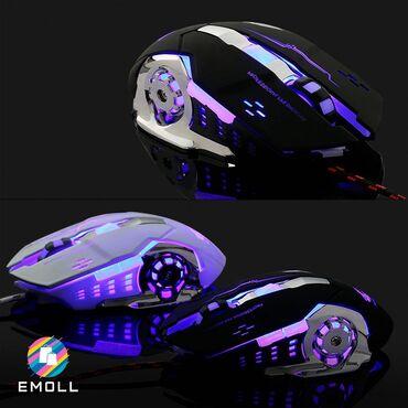 Игровая мышь ZIYOU LANG V5, Проводная компьютерная мышь для компьютерн
