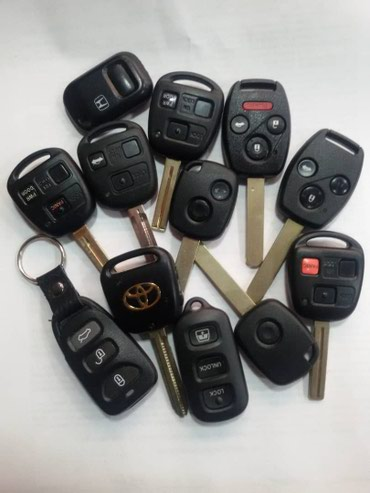 Чип ключи с кнопками, Чип ключ для авто с кнопками, Изготовление ключе