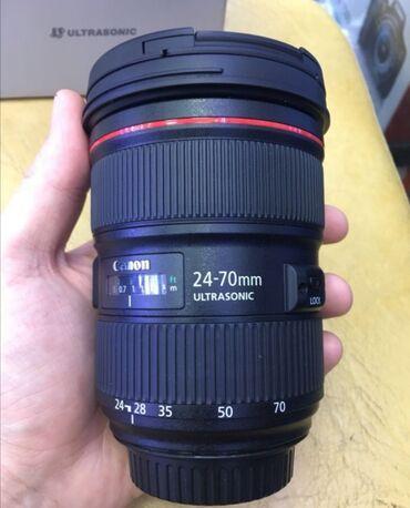 filter - Azərbaycan: Canon 24-70mm f2.8 II versiya təzə kimi 1850 azn. Nömrəye zəng catmasa