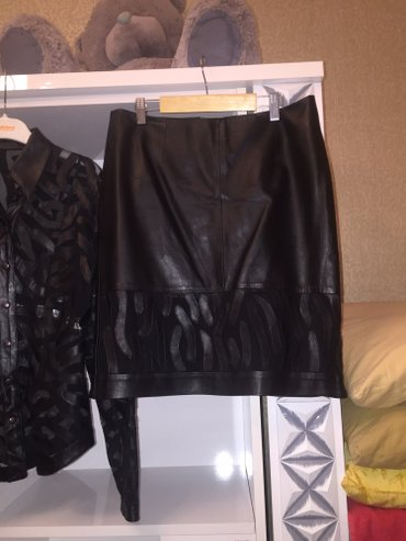 женские вельветовые юбки в Азербайджан: Женский кожанный турецкий костюм м размер