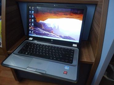 Bakı şəhərində HP G6 (core i3+3 GB videokart) Noutbuku əla vəziyyətdədir və əla