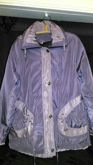 Куртка теплая зимняя(новая)52 размера. Цвет сиреневый хамелеон в Бишкек