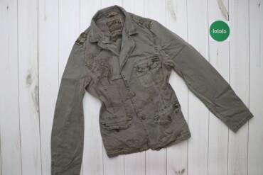 Жіноча джинсова куртка Super.Eu    Довжина: 70 см Ширина плечей: 37 см