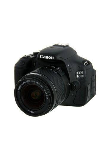 офицерский ремень в Кыргызстан: Продаётся фотоаппарат canon 600d с объективом canon 18-55 f3.5-5.6