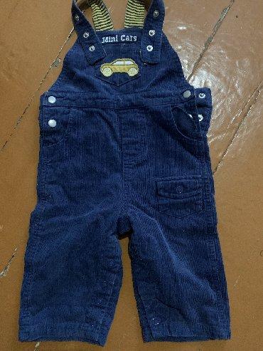 Вельветовые джинсы, размер 6-12 месяцев, В идеальном состоянии, SELA