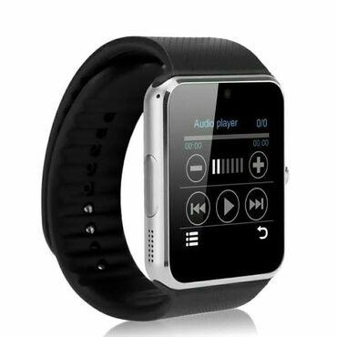 SmartwatchSu keçirmez Sim kartAndroid OS IOSGPSRam-128Kamera Dil