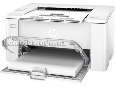 Printerlər - Azərbaycan: Printer Hp Laser Jet Pro M102aƏsas göstəricilərBrend HPCihaz növü