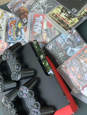 PlayStation 3 Ustunde 16 eded oyun diski +16 eded oz yaddashinda oyun4