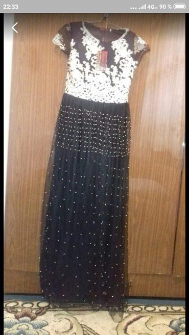 Продаю красивое платье черного цвета в Токмак