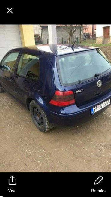 prodajem auto golf 4 u ekstra stanju veoma dobro očuvano ful oprema ko - Prijepolje