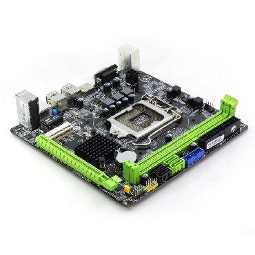 материнские платы colorful в Кыргызстан: Материнская плата ITX Intel H81 LGA 1150 Socket USB2.0 SATA3.0 PCI-E