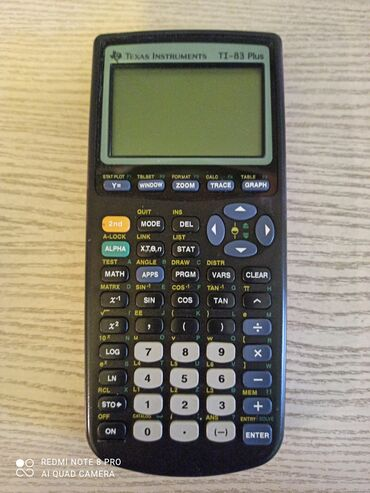 Продаю графический калькулятор модели texas instruments ti-83 plus