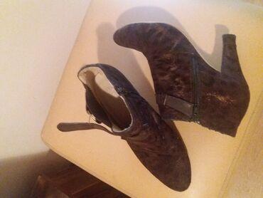 Ženska patike i atletske cipele   Sabac: Svecane. broj 37 braon zlatna malo nosene saljem post expresom