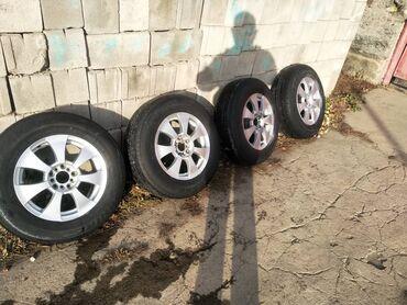 диски титановые в Кыргызстан: Продаю титановые диски размер 16 стояли на Эстиме ровные не вареные