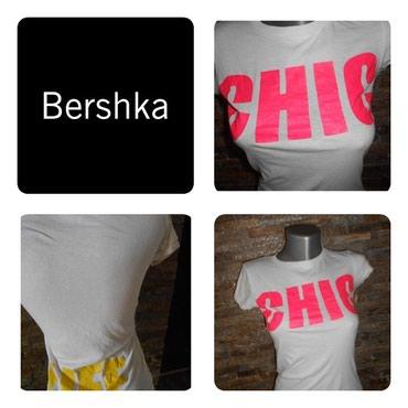 Cetiri-majice - Srbija: Majice Bershka vel. M   Majice Bershka vel. M