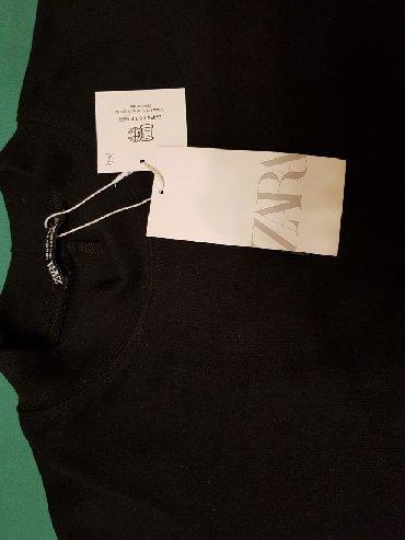 футболка манчестер юнайтед в Кыргызстан: Футболка черная, новая, Zara