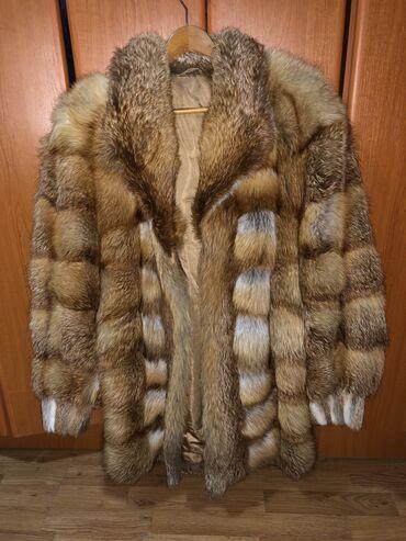 Ponco vuna akril - Srbija: Bunda prirodno krzno vuka