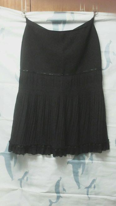 Юбка. Внизу гафре. Цвет чёрный. Размер в Бишкек