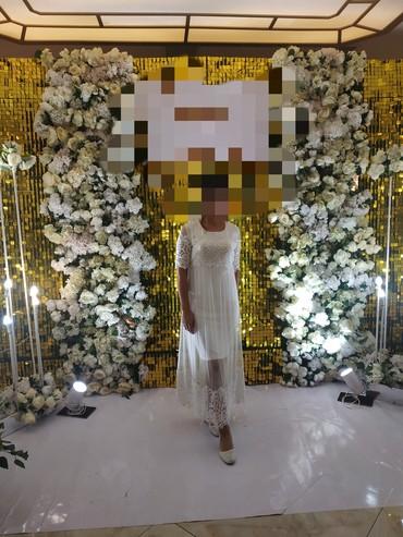 ПРОДАЮ вечернее нежное платье 46размера. Одевала один раз, в живую