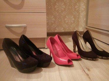 Женские туфли, цена 500 сом. есть обуви, в Бишкек