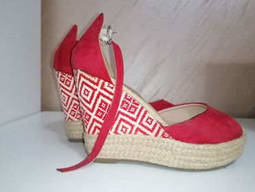 Sandale, platforma, koriscene, udobne