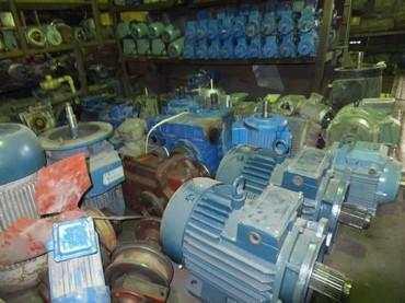Электродвигатели разные только 3 фаза. + Редуктор, мотор- редуктор