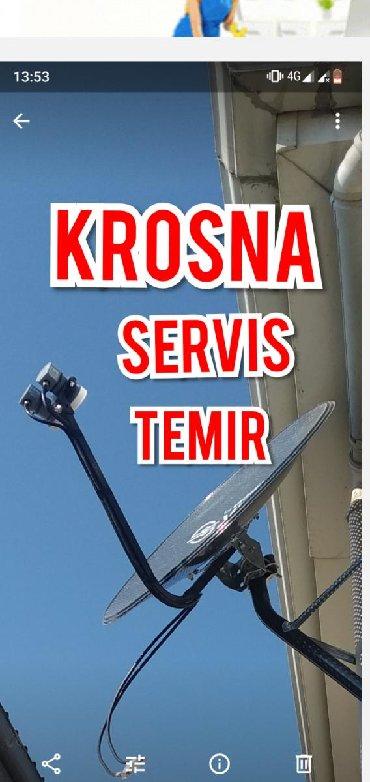 барабанная установка электронная в Азербайджан: Krosna peyk anten usta Servis.  Kanallarin yigilmasi Ustanovka