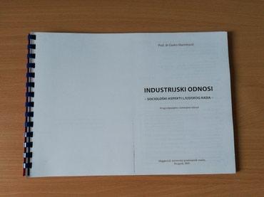Industrijski odnosi prof. dr. Darko Marinković izdanje 2005. - Nis
