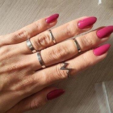 Set od - Srbija: Set od 5 prstenčića