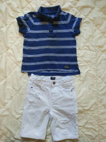 мужские шорты в Кыргызстан: Продаю шикарный комплект шорты и батник на мальчика 2-3 лет бренд