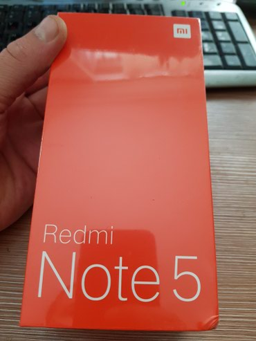 Redmi Note 5 3×32  в Бишкек