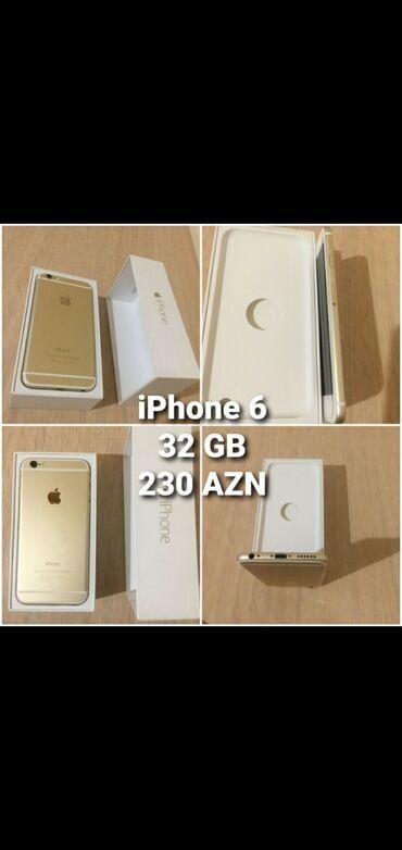 Yeni iPhone 6 32 GB Qızılı