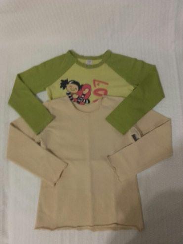 Dve majice za devojcice velicina 98 cena za obe 220 din - Belgrade