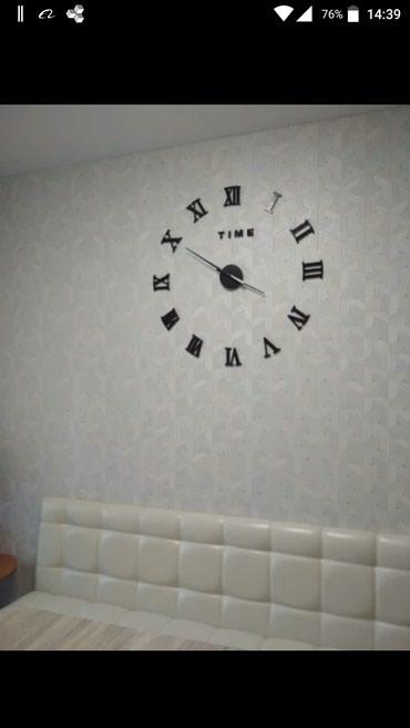 Sumqayıt şəhərində 3D Dekor Saat..Yeni..qutuda..mexanizm batareykanan iwleyir..cox qozel