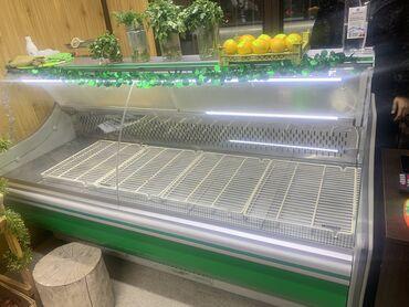 Б/у Холодильник-витрина Зеленый холодильник Electrolux