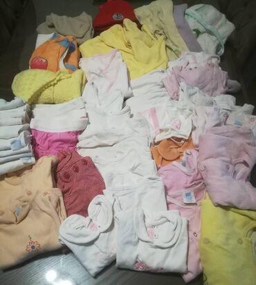 Paket kvalitetnih benkica, pantalonica, zeka bebe 3/6 meseci: bodi dug