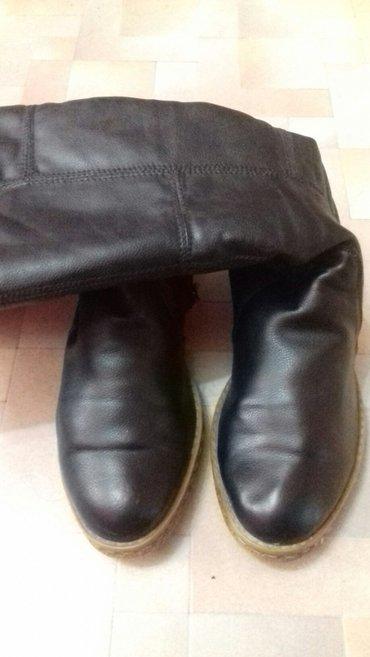 Продаю б/у зимние сапоги, размер 39. в Бишкек