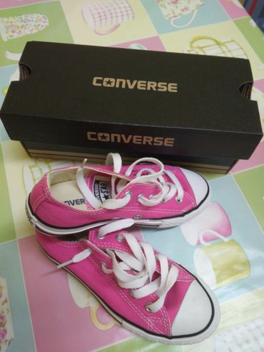 Παιδικά παπούτσια για κορίτσι χρώμα φούξια  converse all star νούμερο  σε Σέρρες