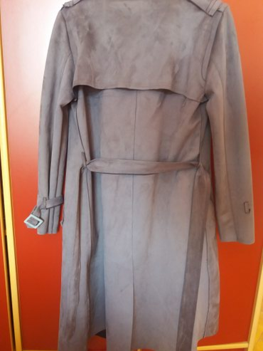 Ostalo | Raska: Nov mantil sa etiketom u M velicini, sive boje