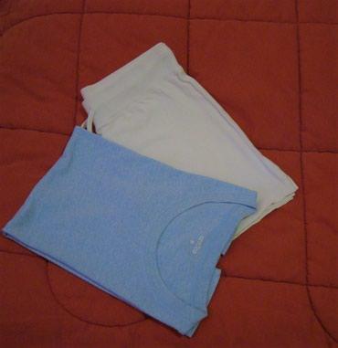 Σορτς αθλητικό και μπλούζα - Σορτς : Μ, άσπρο, καινούριο -Μπλούζα : Μ