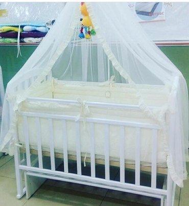 детские кроватки Антел производство :Россия  Материал: Берёза с майитн в Бишкек