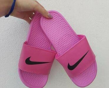 Ženska obuća | Sokobanja: Roze Nike papuce Brojevi od 36 do 41, kalup je za broj manji, zamenu