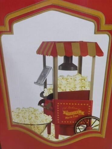 Aparat za kokice - Srbija: Ova mašina za kokice predstavlja kopiju staromodnog postolja za kokice