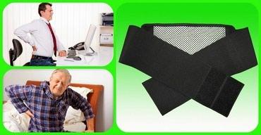 Бандажи, корсеты, корректоры - Кыргызстан: Пояс с турмалином имеет магнитные вставки и изготовлен из ткани