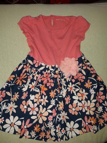 Ocuvane i kao nove haljine za 2-3-4 godine. prugasta obucena jednom