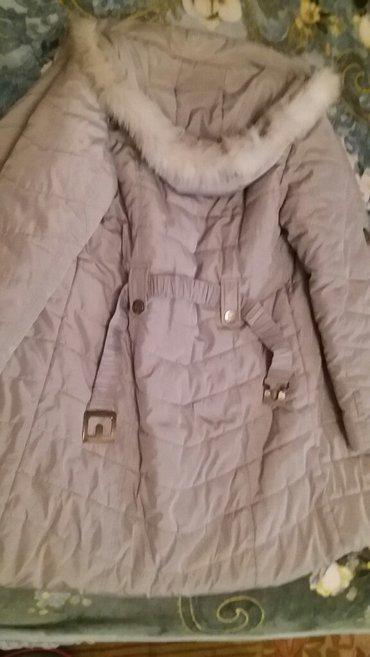 Зимняя теплая куртка!Отличное состояние! в Бишкек