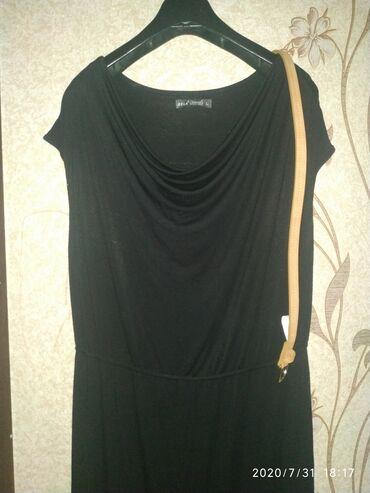 черное длинное платье в Кыргызстан: Платье Коктейльное Sela XL