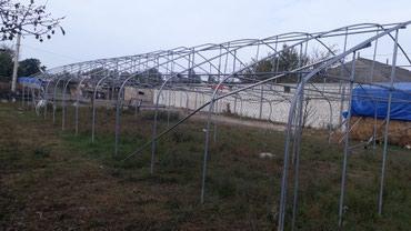 Ucar şəhərində Ucar Rayonunda 4 yol erazisinde parnik satilir.Parnik demir