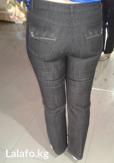 термо одежда бишкек в Кыргызстан: Одежда-Джинсы черные -размер 48-50
